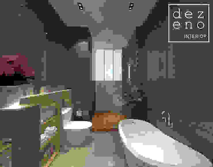 BATHROOM AREA Dezeno Sdn Bhd Modern style bathrooms Grey