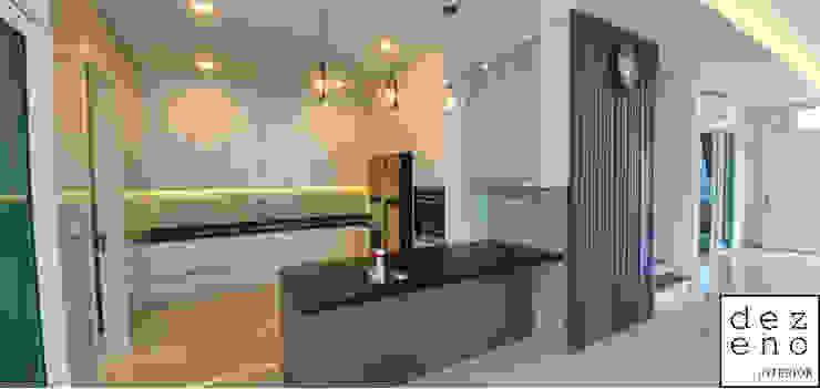 KITCHEN AREA Dezeno Sdn Bhd Kitchen units White