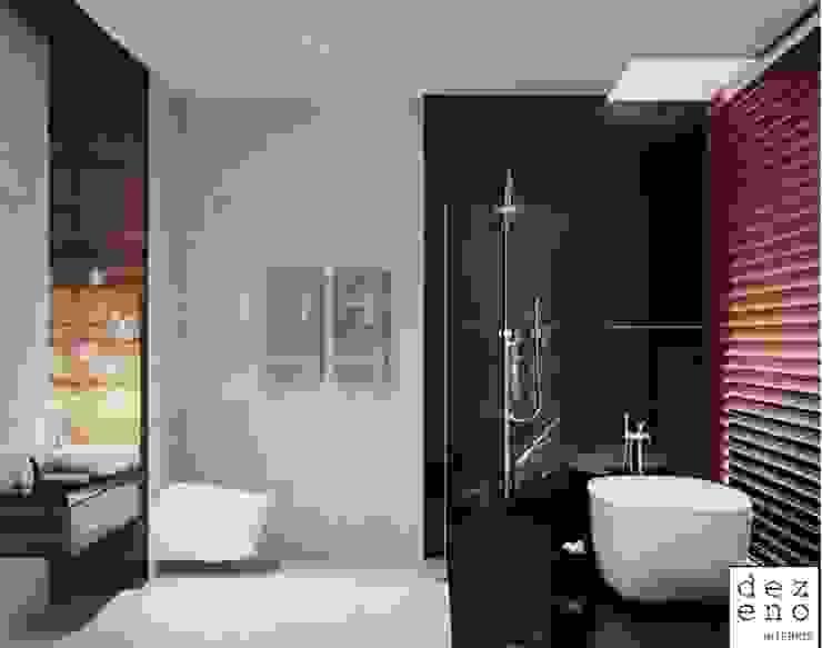 BATHROOM Dezeno Sdn Bhd 現代浴室設計點子、靈感&圖片 Blue