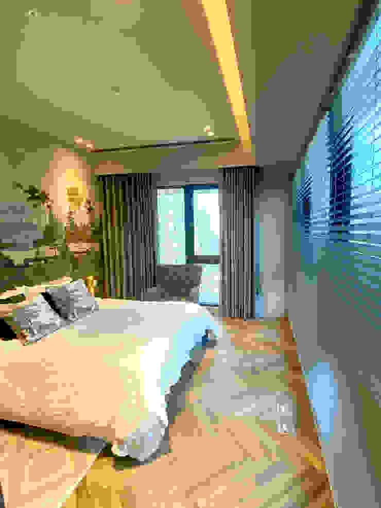 MSBT 幔室布緹 Cuartos de estilo tropical Derivados de madera Acabado en madera