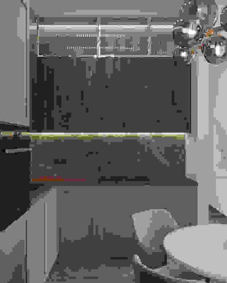 Nevi Studio Cucina attrezzata Legno Marrone