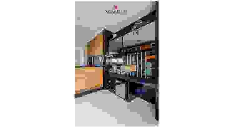 Sgabello Interiores Wine cellar MDF Black