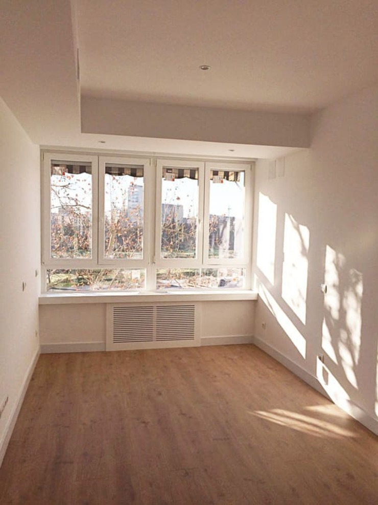 Dormitorio tras la reforma ARESAN PROYECTOS Y OBRAS SL