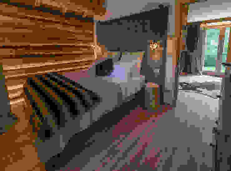 Maison alpina Nel Primiero Camera da letto in stile classico di Gregory Interior Photo Classico