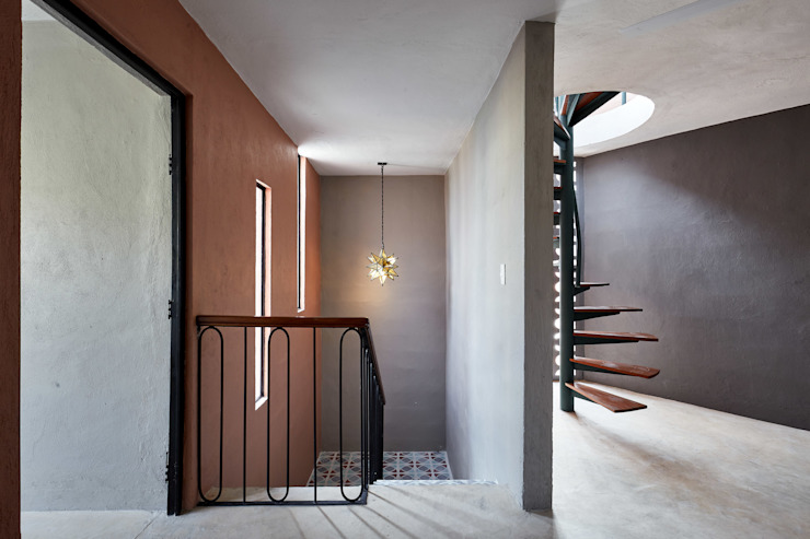Quinto Distrito Arquitectura Stairs Iron/Steel Green