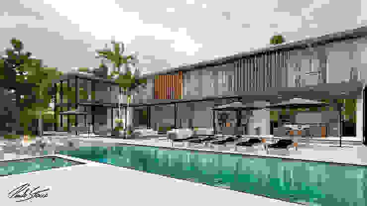 Paulo Stocco Arquiteto Rumah pedesaan