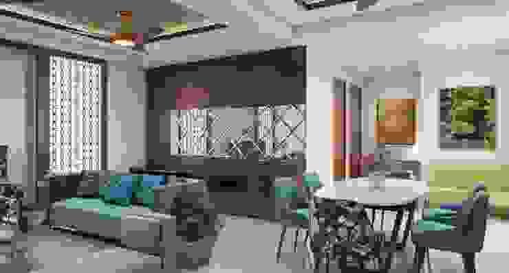Dining area Lakkad Works Modern dining room