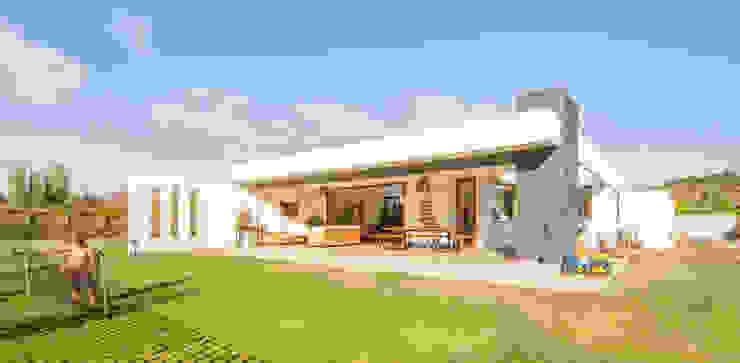 m2 estudio arquitectos - Santiago Single family home Chipboard White