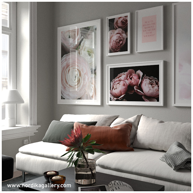 Cuadros Decorativos ArtworkPictures & paintings Wood Pink