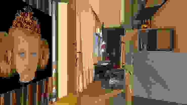 Cobertura | Loft 01 | Hall Arquitetura Sônia Beltrão & associados Hotéis modernos Vidro Cinza
