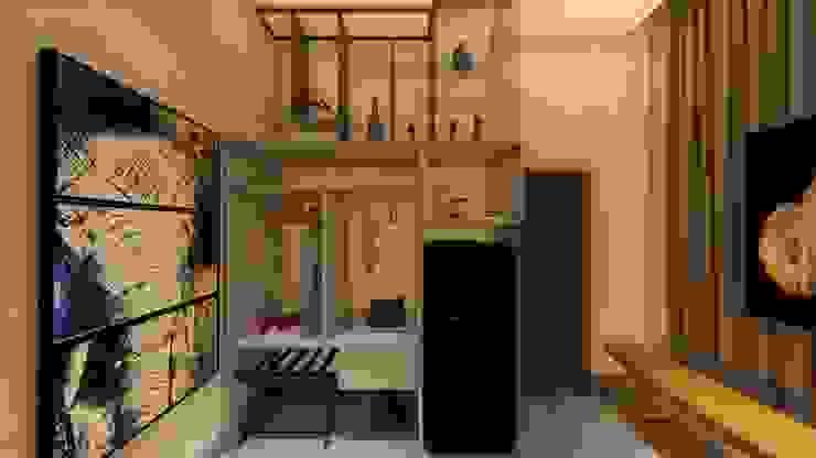 Cobertura | Loft | Closet Arquitetura Sônia Beltrão & associados Hotéis modernos MDF Multi colorido