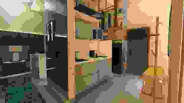 Gourmet Arquitetura Sônia Beltrão & associados Hotéis modernos Concreto Cinza