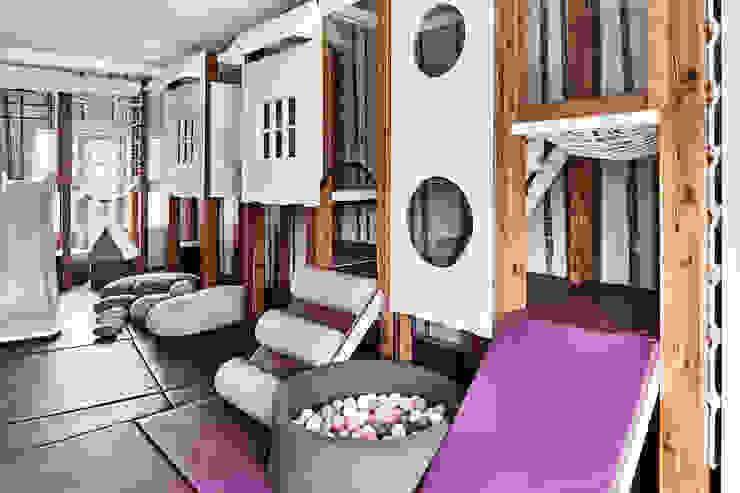 Bespoke play house in soft play room Tigerplay Modern nursery/kids room