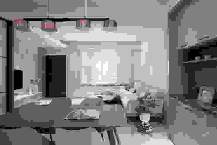 灰色調餐桌 禾廊室內設計 Classic style dining room