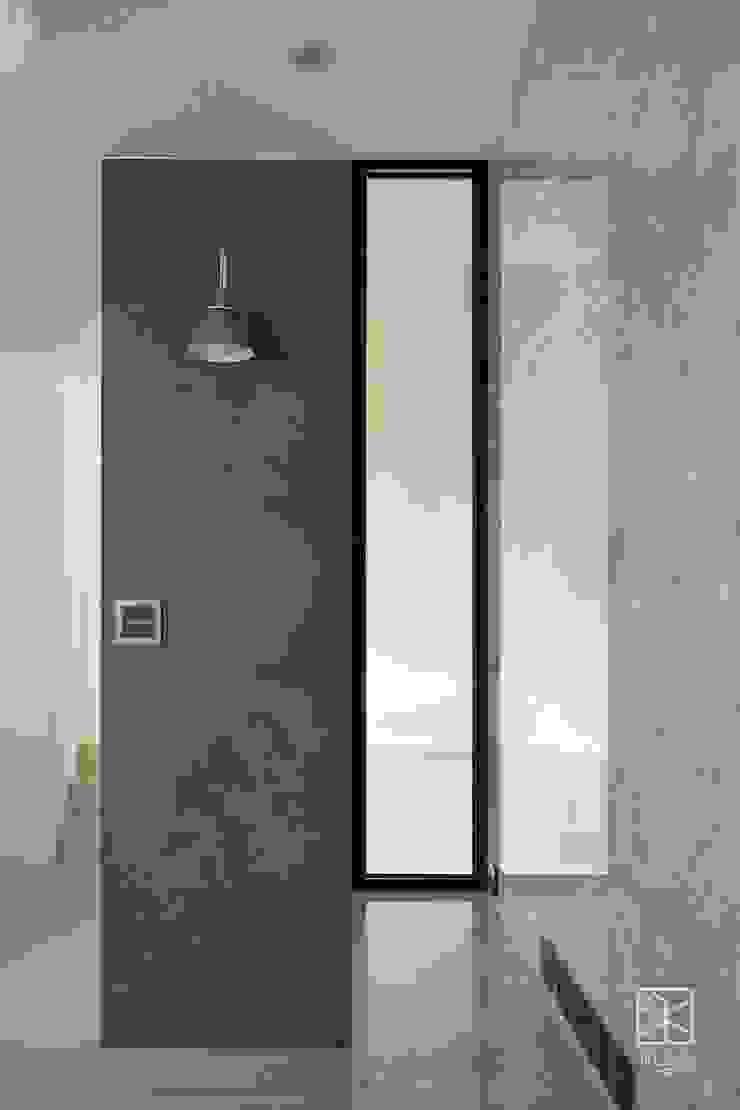 樓梯隔間牆兼具玄關屏風 禾廊室內設計 Walls