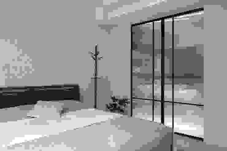 鋁框拉門 禾廊室內設計 Modern dressing room