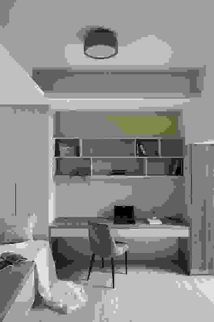 開放層架 禾廊室內設計 Study/office