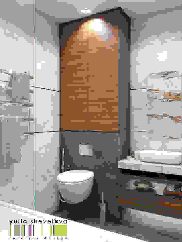 Мастерская интерьера Юлии Шевелевой Eclectic style bathrooms