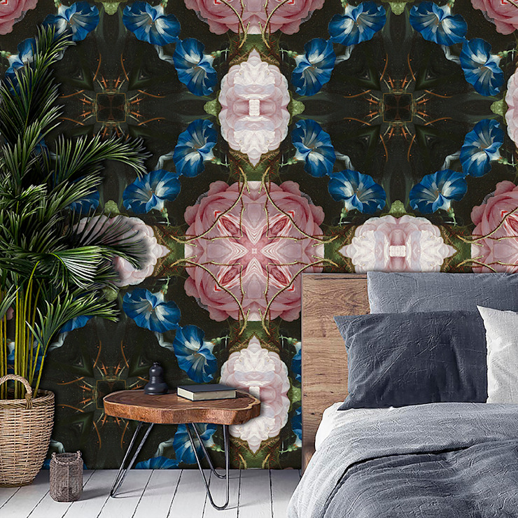La Aurelia พื้นและกำแพงวอลเปเปอร์ Multicolored