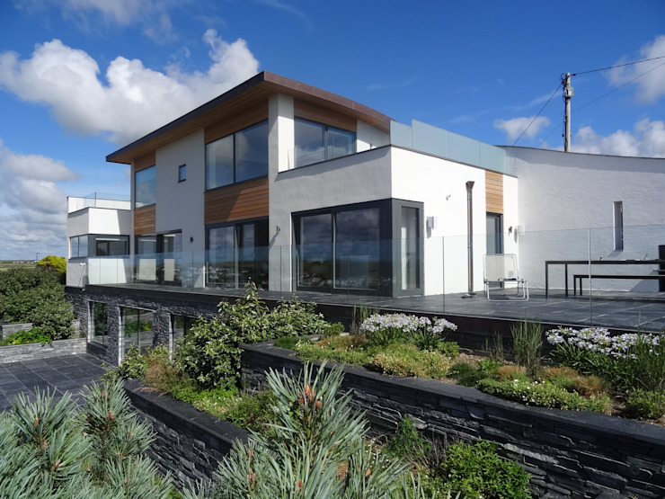 Eco Friendly New Build Home In Cornwall Arco2 Architecture Ltd Detached home