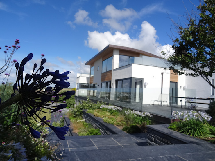 New build In Cornwall Arco2 Architecture Ltd Modern houses