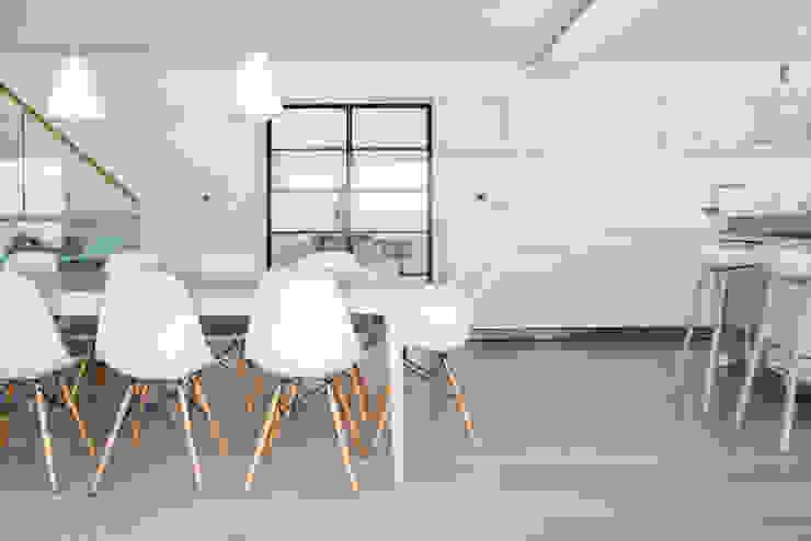 Minimal White Kitchen Design Arco2 Architecture Ltd Modern kitchen