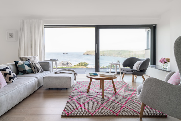 Coastal Style Interiors Arco2 Architecture Ltd Modern living room
