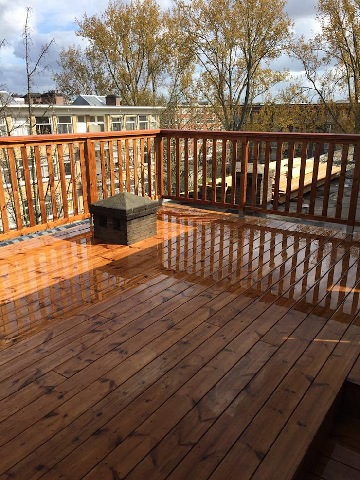 Eden B.V. Patios & Decks Wood Brown