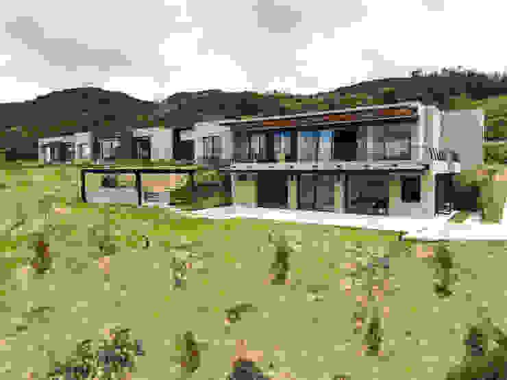 Casa en La Calera Cundinamarca. Conjunto Bosques de Granada y Cayunda Arquitectos y Entorno S.A.S Casas unifamiliares