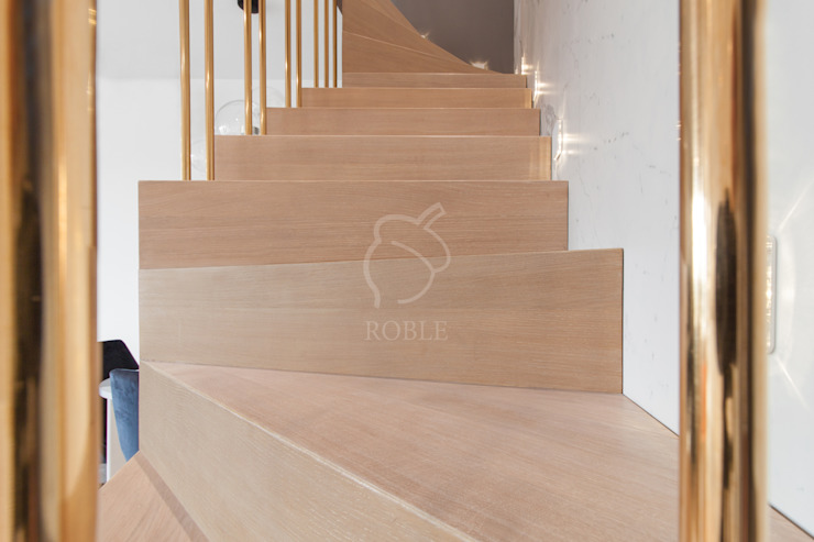 Roble Stairs Wood
