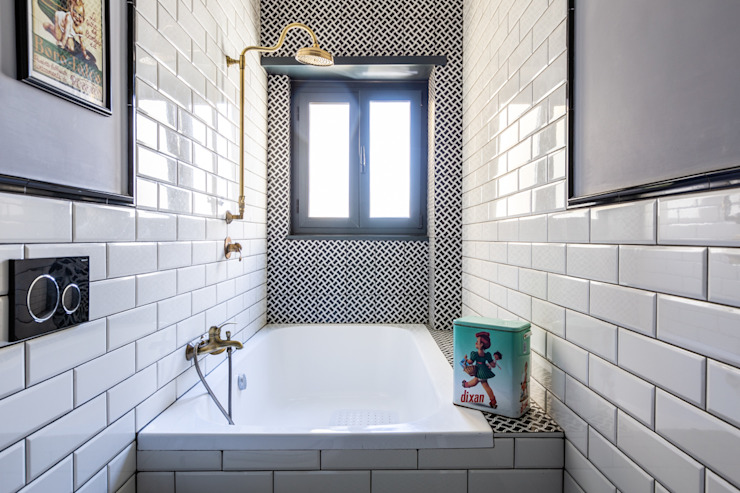 Facile Ristrutturare Industrial style bathroom