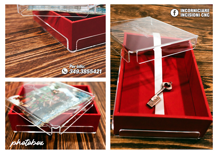 PHOTOBOX IN PLEXIGLASS INCORNICIARE CasaAccessori & Decorazioni