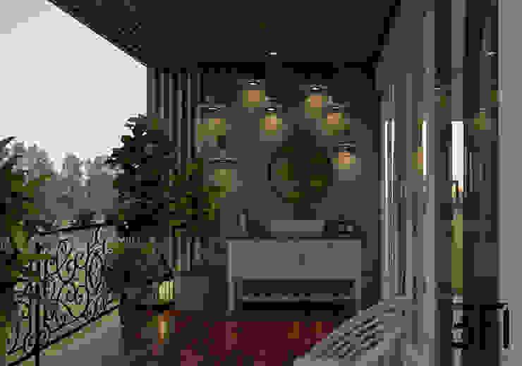 Balcony 3F Architects Balcony