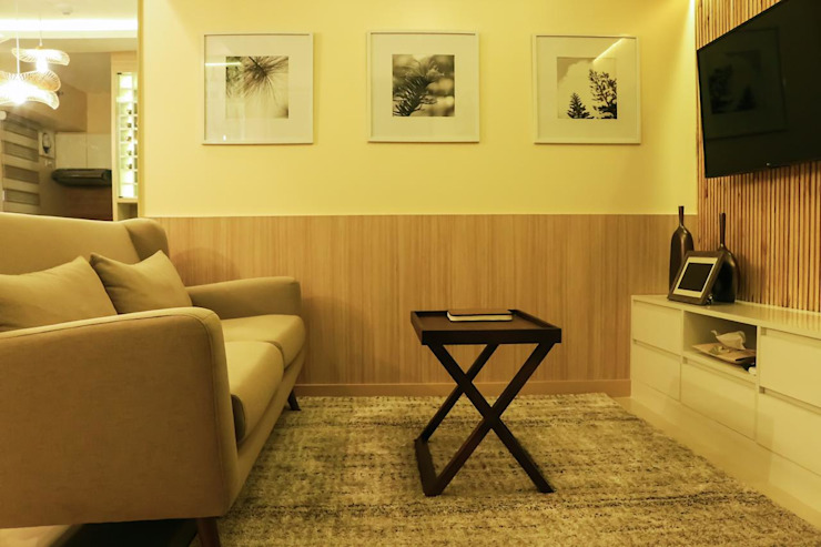 CIANO DESIGN CONCEPTS Living room Wood Wood effect