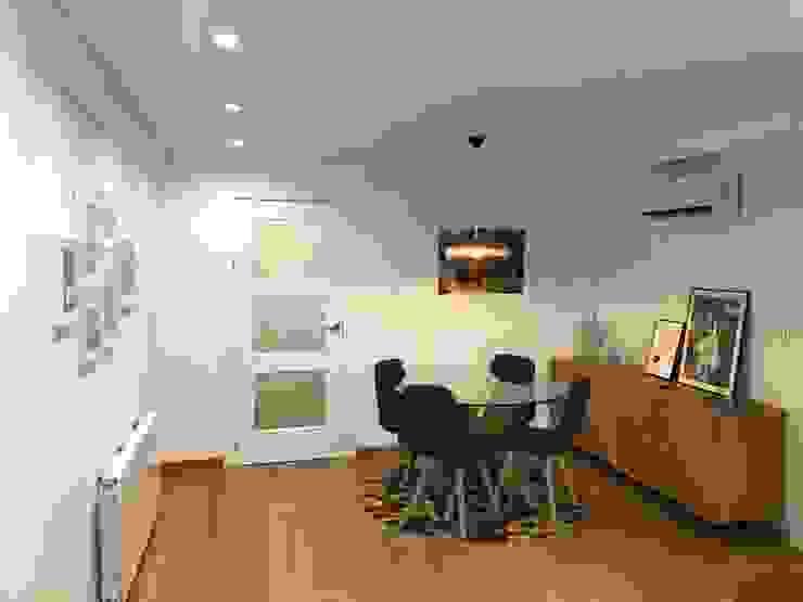 PROYECTO INTEGRAL PISO EN GRANADA inbasi Interiorismo y Decoración S.L.U. Salones de estilo escandinavo