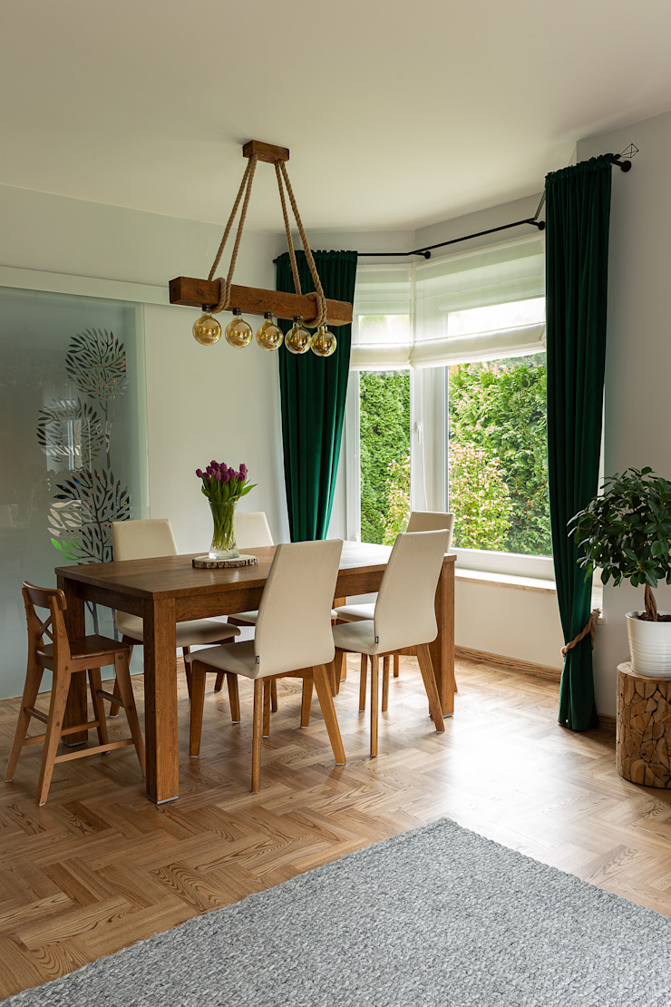 IDEALS . Marta Jaślan Interiors Country style dining room