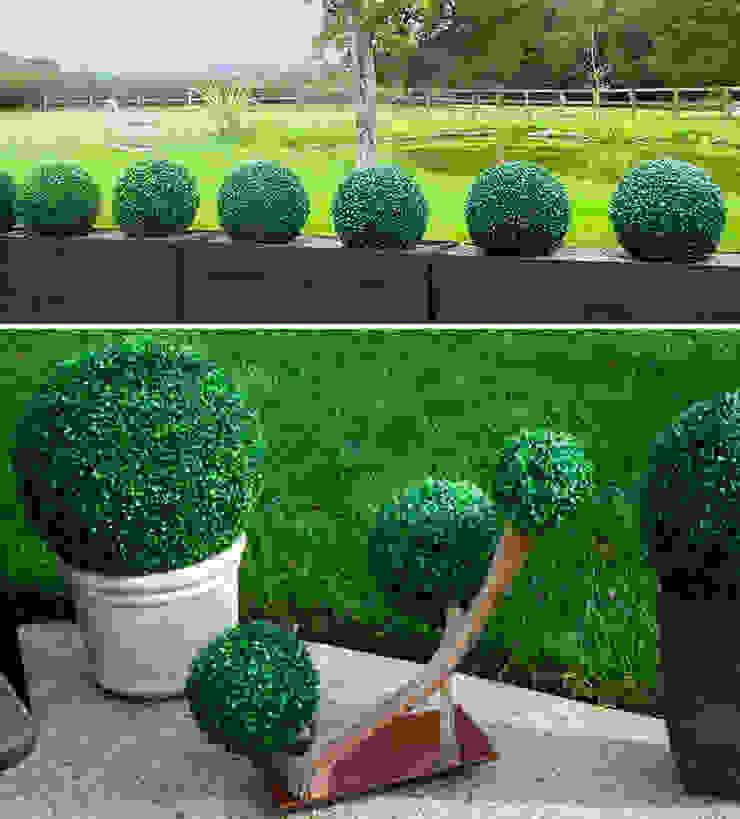 Outdoor Artificial Boxwood Ball Planter Sunwing Industries Ltd Khu Thương mại Nhựa Green