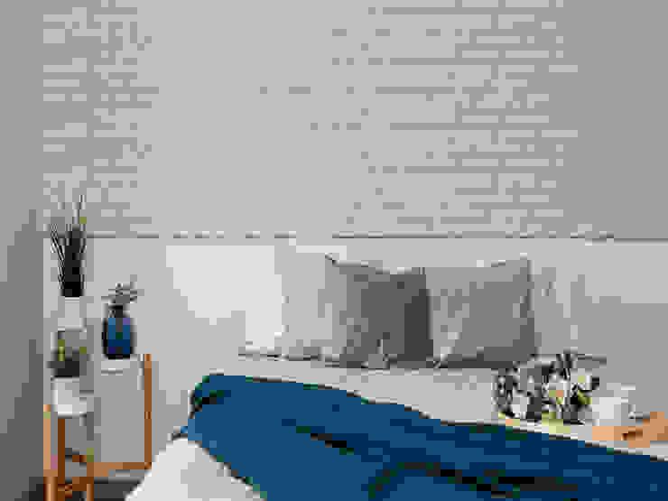 Studio4Design Scandinavian style bedroom Stone Beige