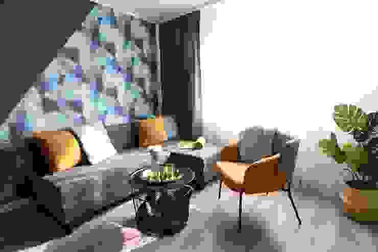 Studio4Design Living room Wood Turquoise