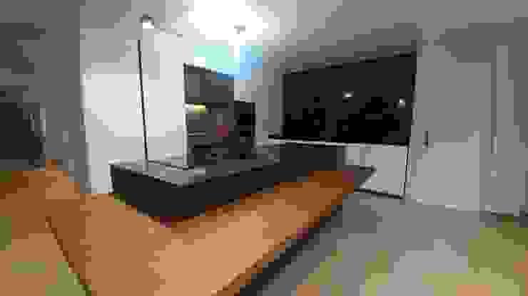 Visão Geral da Cozinha Noir et Blanc Alquimia CozinhaArmários e estantes