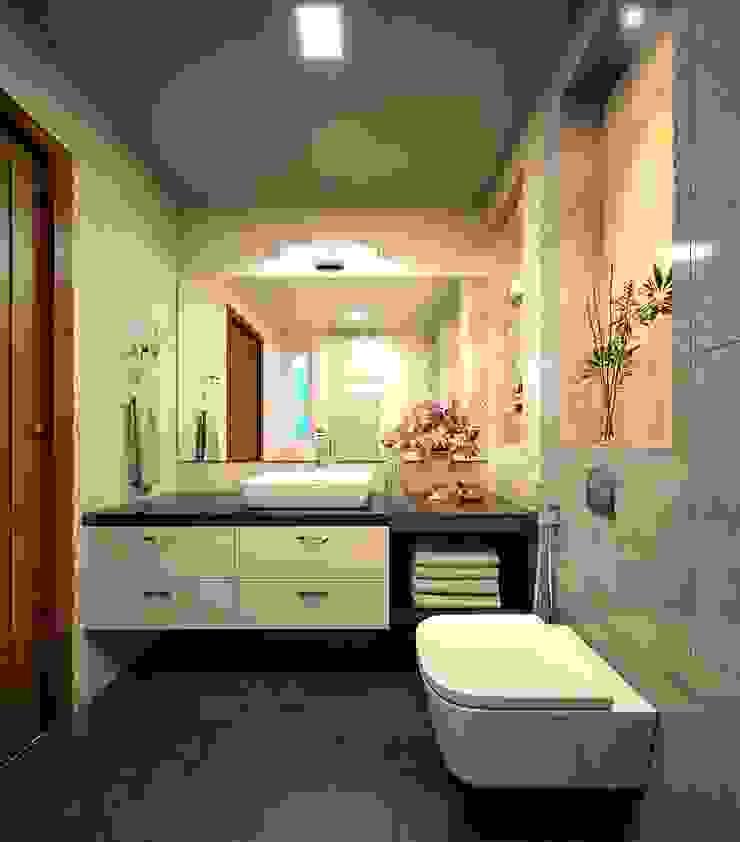 Bathroom design ideas Monnaie Interiors Pvt Ltd BathroomDecoration Wood Wood effect