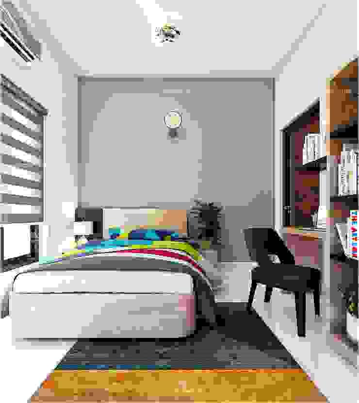 Bedroom room design styles Monnaie Interiors Pvt Ltd BedroomAccessories & decoration Wood Wood effect