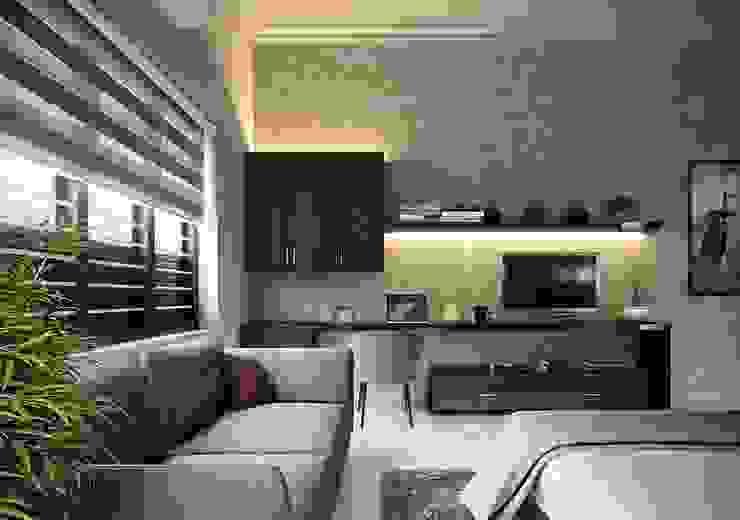 Living view designs Monnaie Interiors Pvt Ltd Living roomAccessories & decoration Wood Wood effect