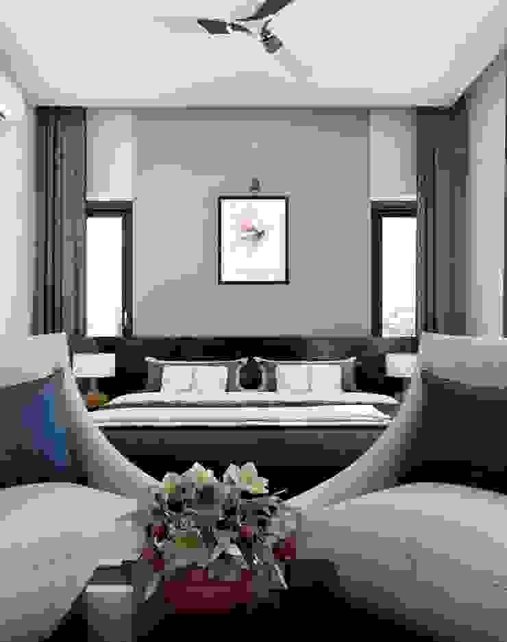 Creative Bedroom design styles Monnaie Interiors Pvt Ltd BedroomAccessories & decoration Wood Wood effect