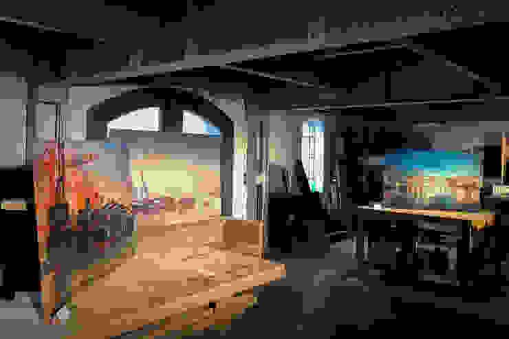 harbourlights - Ausstellung Moderne Wohnzimmer von ArtSelbach Modern Aluminium/Zink
