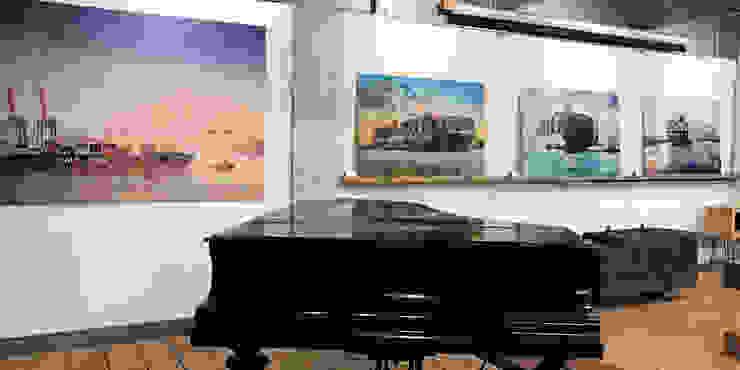 harbourlights - Ausstellung Moderne Arbeitszimmer von ArtSelbach Modern Aluminium/Zink