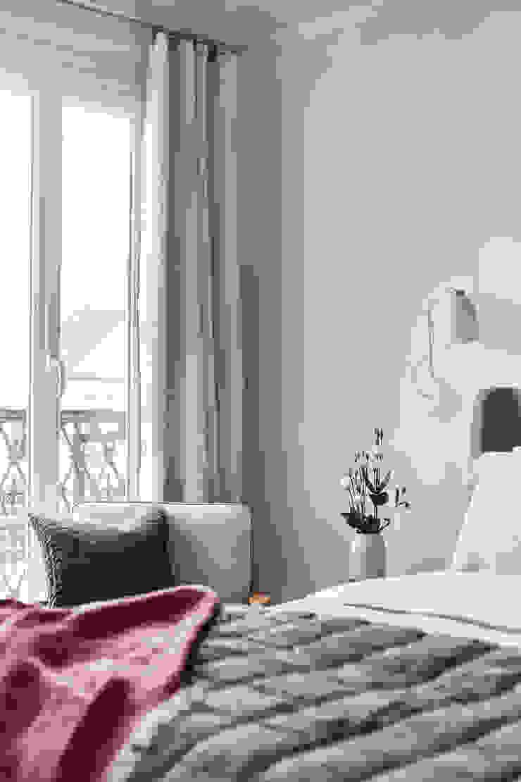 Lichelle Silvestry Interiors - Magenta Lichelle Silvestry Interiors Petites chambres