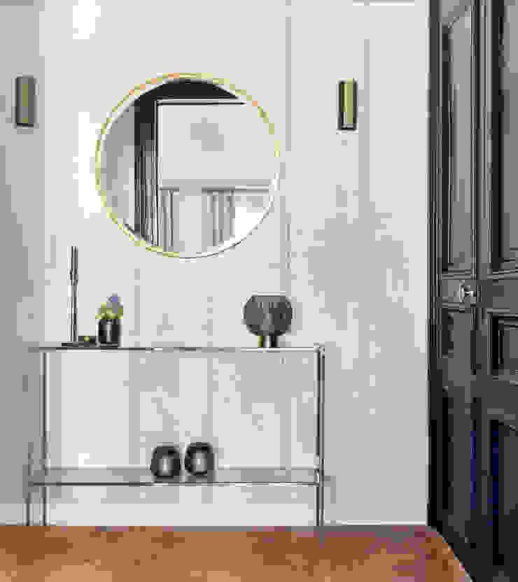 Lichelle Silvestry Interiors - Magenta Lichelle Silvestry Interiors Couloir, entrée, escaliers modernes