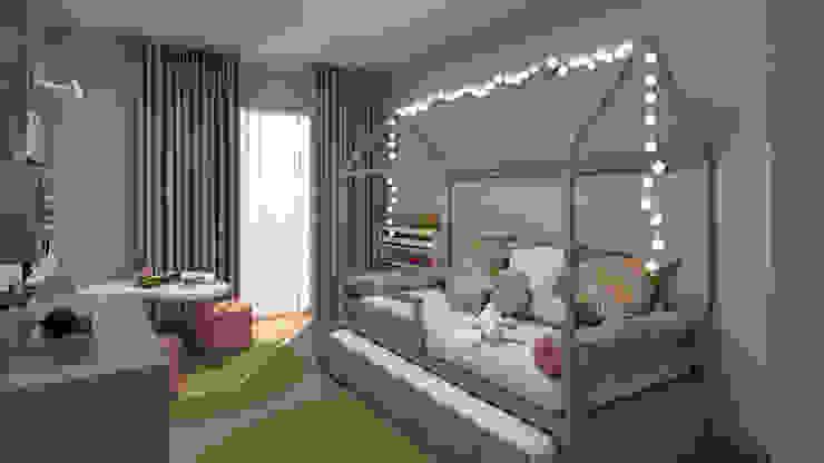 4Ponto7 Dormitorios infantiles Camas y cunas Madera Multicolor