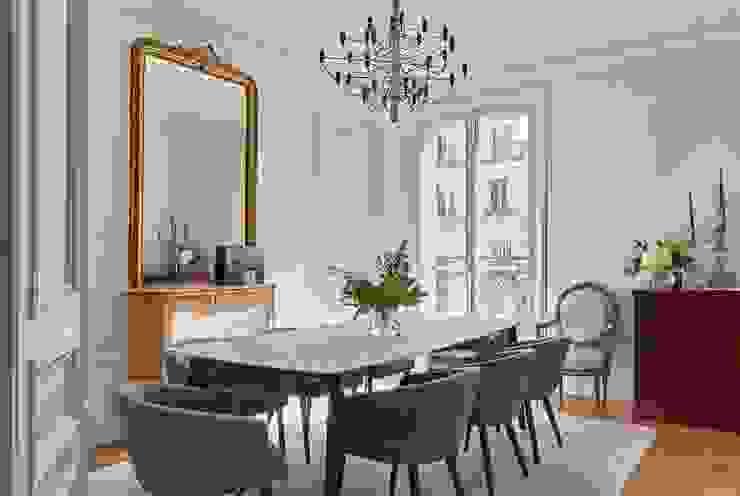 Lichelle Silvestry Interiors Ruang Makan Klasik